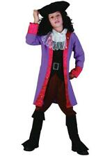 Boys Fancy Dress Pirates Costume Pirate Captain Hook outfit SALE