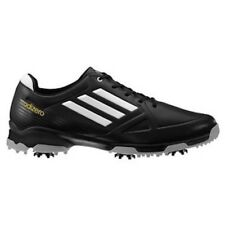 NEW MEN'S ADIDAS ADIZERO 6-SPIKE GOLF SHOES BLACK/WHITE 674977 - PICK YOUR SIZE
