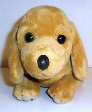 "ANIMAL ALLEY BROWN DACHSHUND 10"" PLUSH WEINER PUPPY DOG STUFFED DOLL TOYS R US"