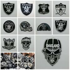 NFL Oakland Raiders National Football League Sew Iron on Patch Embroidered Logo
