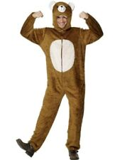 SALE! Adult Bear Animal Ladies / Mens One Piece Fancy Dress Costume Party Outfit