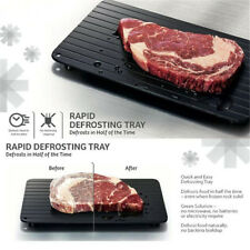 Fast & Easy Defrosting Meat Tray - Rapid Thawing Tray for Frozen Food