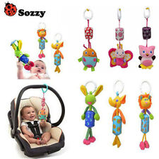 Infant Toys Mobile Baby Plush Cartoon Bed Wind Chimes Rattles Bell Toy Stroller