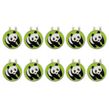 10Pcs Alloy Golf Visor / Hat Clip with Magnetic Ball Marker Golf Accessories