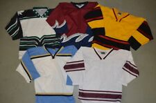 CHOICE OF: Kids YOUTH SMALL - DEAD STOCK Minor Pro College Blank Hockey Jersey