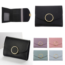 Womens Mini Small Leather Wallet ID Credit Card Holder Case Organizer Purse