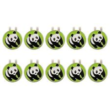 10 Pieces Portable Alloy Golf Hat Clip and Ball Marker, Golf Accessories