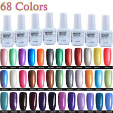 5ml Gel polish Art Soak Off Color UV LED Gel Nail Polish Lamp Manicure~ 68Colors