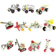 Assembly Metal Truck Car Model Kits Plane Toy Building Play for Kid Children