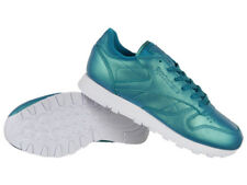 Reebok Classic Leather Perlized Womens Sneakers Leather Trainers Shoes