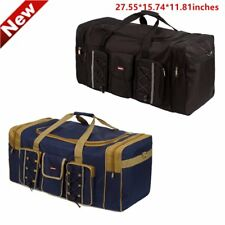Men Large Duffle Bag Oxford Luggage Travel Shoulder Bag Tote Gym Overnight Bag
