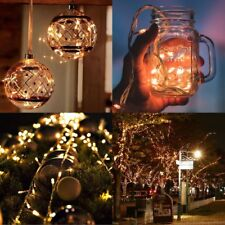 10-100m LED String Fairy Lights Fairy Starry String Lights Christmas Party