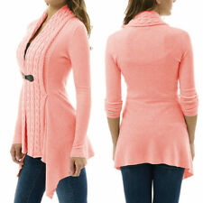 Long Sleeve Knitwear Slim Fashion Casual Buckle Tops Women Hot Cardigan Sweaters