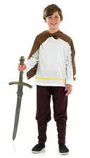 BOYS KIDS CHILDS VIKING SAXON WARRIOR FANCY DRESS COSTUME OUTFIT AGES 4-12 NEW