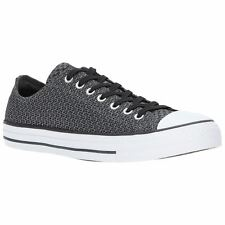 Converse Chuck Taylor All Star Ox Thunder Black Mens Knit Trainers 158258F