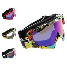 Motorcycle Windproof Dustproof Skiing Snowboarding Anti-Fog Goggles Unisex