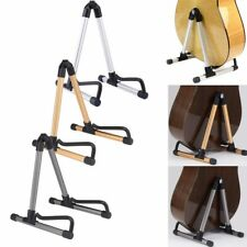 Portable Universal Acoustic Electric Guitar Holder Floor Stand Folding A-Frame