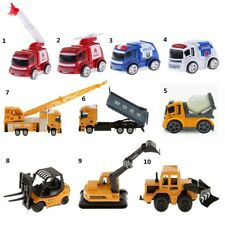 10 Styles 1:64 Diecast Truck Vehicle Car Model Kids Educational Toy Xmas Gift