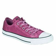 Converse Chuck Taylor All Star Ox Magenta Glow White Womens Canvas Trainers