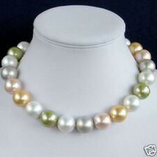 Ladies Necklace Beads Sea Shell Pearl Necklace Women Jewelry