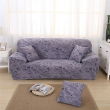 1/2/3 Seater Sofa Cover Couch Settee Slipcover Pet Furniture Protector Gray