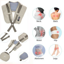 Tapping Neck & Shoulder Heat Massager Full Body Electric Massage Device T6X3