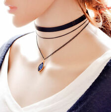 Fashion Women Gothic Style Hot Vintage Style Choker Chain Necklace Layer 3 New