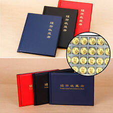 200 240 Pockets Coin Book Collection Holders Penny Album 10P Black Red Blue