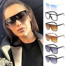 Women's Ladies Square Sunglasses Retro Vintage 80's 70's Trendy Rockabilly Gift