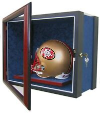 1 FULL SIZE FOOTBALL HELMET DISPLAY CASE - SPORTS DISPLAY CASE - USA PRODUCT!