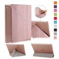Origami Slim Leather Smart TPU Back Cover Stand For Apple iPad 2/3/4 Air 2 mini