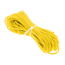3mm Yellow/Green Elastic Bungee Rope Shock Cord Luggage Tie Down Trailers Boats