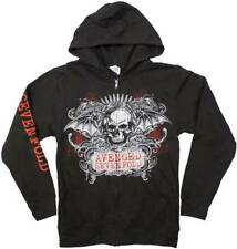 Avenged Sevenfold Ornate Skull Adult Mens Music Metal Band  Zip Up Hoodie 7A250
