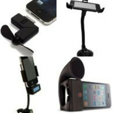 Car Windshield Mount Holder System FM Transmitter Stand For iPhone 4