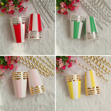Colorful Disposable Wedding Paper Cups Party 8pcs Birthday Supplies Tableware