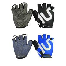 Racing Cycling Bike Bicycle GEL Shockproof Sports Fitness Half Finger Gloves