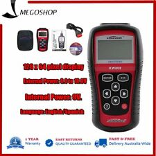 Car Auto OBD2 OBDII EOBD Diagnostic Scanner Engine Fault Code Reader CAN KW808