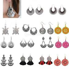 Folk Ethnic Charms Stud Earrings Exquisite Women Jewelry Earrings Dancing Party