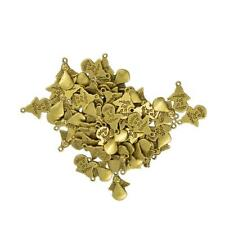 50pcs Antique Gold /Bronze Angel Wing Pendants Charms Jewelry Finding DIY