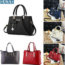 Women Versatile PU Handbags Lady Shoulder Messenger Shoppers Bag Tote Wallet New
