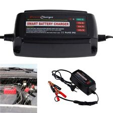 12V 5A Smart Fast Lead Acid Auto Car Motorcycle Battery Charger Waterproof