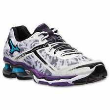 Women's Mizuno Wave Creation 15 Running Shoes J1GD140130 White Aquarius $160 MSP