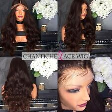 24 inch Body Wave Brazilian Remy Human Hair Wigs 200% Lace Front Wigs for Women