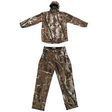 3D Leaves Camo Hunting Hoodie Jacket Pants, Camouflage Suit Woodland
