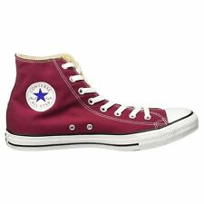 Converse All Star Hi M9613C Maroon Womens High Top Casual Trainers New All Sizes