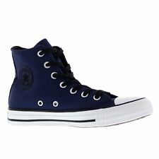 Converse Chuck Taylor All Star Hi Midnight Navy Black Womens Canvas Trainers