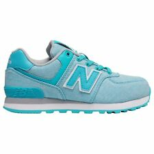 New Balance 574 Classic Aquamarine Youth Low-Top Laced Sporty Sneakers Trainers