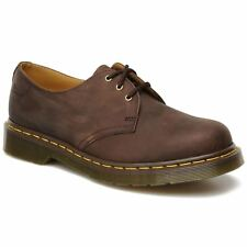 Dr.Martens 1461Z Crazy Horse Brown Leather Womens - Mens Shoes - 11838201