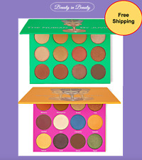 The Nubian / Nubian 2 Eyeshadow palette by JUVIA'S PLACE New & Authentic Choose