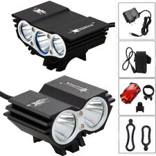 SolarStorm X2 X3 T6 Bike Light LED Front Head Bicycle Lamp Headlamp Battery US